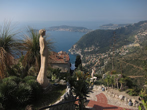 Photo: perched 1500 ft. above the Mediterranean.
