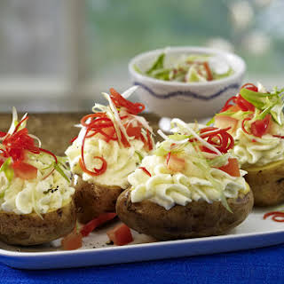 Deluxe Baked Potatoes.