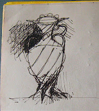 Photo: vase scketch as a goal to make in 009