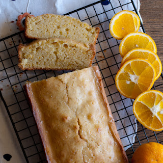 Almond Orange Vanilla Pound Cake.