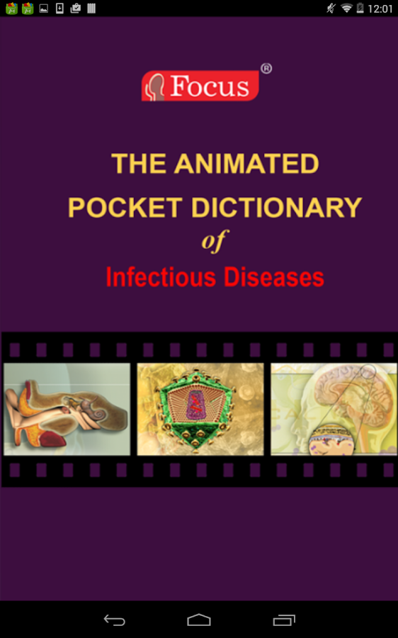 Infectious Diseases - Dict.- screenshot