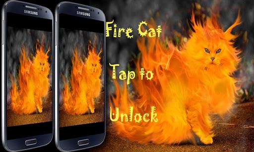Fire Cat Lock