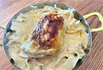 Clay Pot Creamy Paprika Chicken
