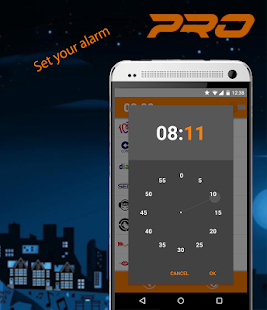 Alarm Radio PRO- screenshot thumbnail