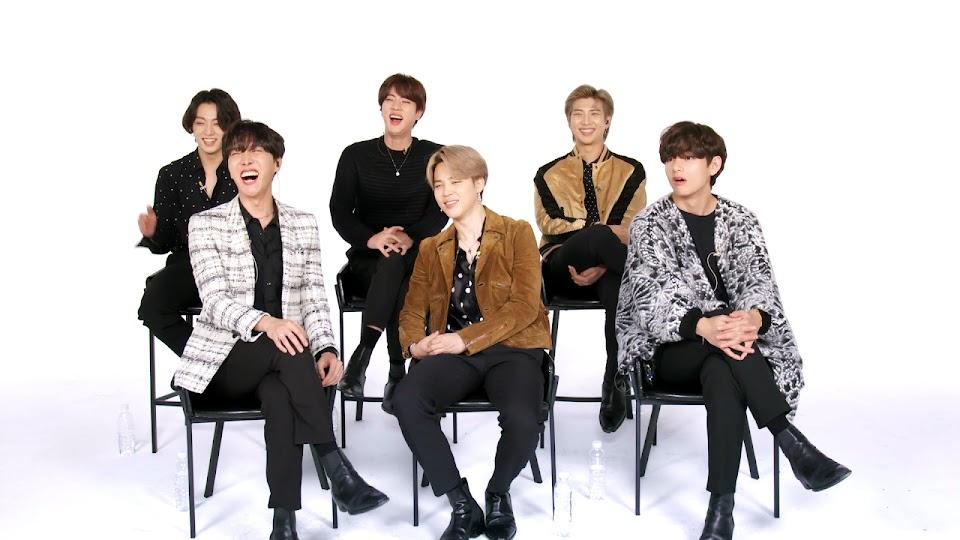 BTS Breaks Down Their Music Career _ Vanity Fair 0-4 screenshot