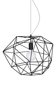 Globen Lighting Diamond Taklampa Svart - lavanille.com