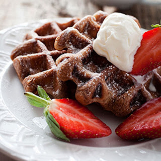 Best Chocolate Chocolate Waffles
