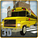 Schoolbus Driver: Parking Game icon