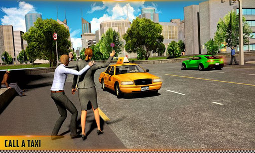 HQ Taxi Driving 3D 1.5 screenshots 1