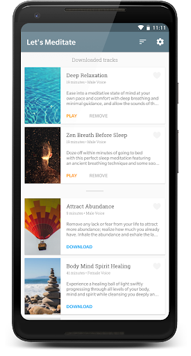 Let's Meditate: Guided Meditation 2.2.1 screenshots 2
