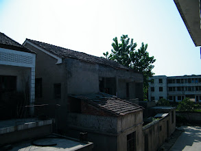 Photo: the residential area in town Tianzhen.