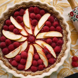 Paleo Berry Apple Tart.