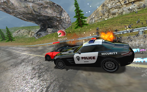 Racers Vs Cops : Multiplayer APK MOD screenshots 2