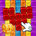 Toy Collapse: Match3 Blast Crush Toon Cubes Puzzle icon
