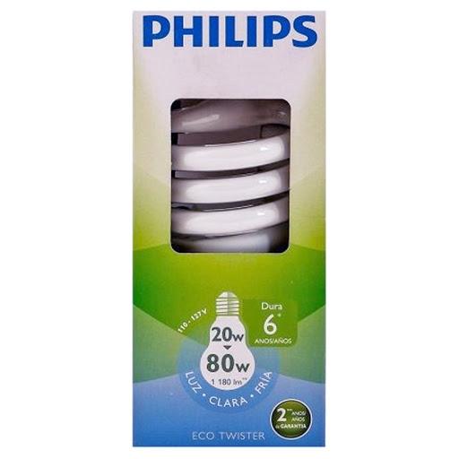 bombillo philips espiral 20-80w