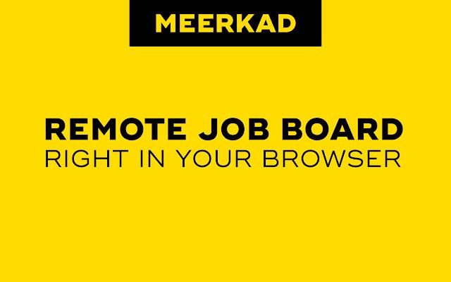 Meerkad - Remote Jobs for Developers
