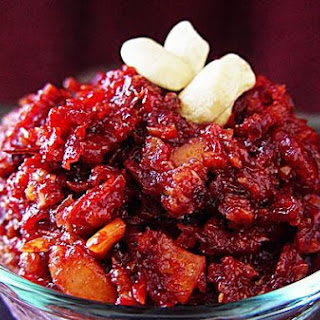 Beetroot & Oats Halwa Pudding.