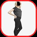 Girls Jeans Selfie icon