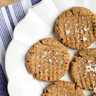 Raw Almond Butter Cookies.