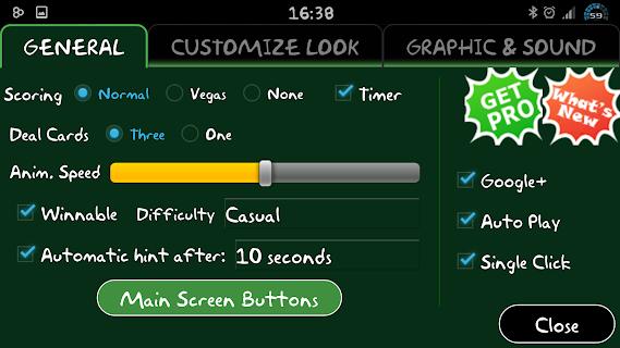 Classic Klondike Solitaire 3D screenshot 05