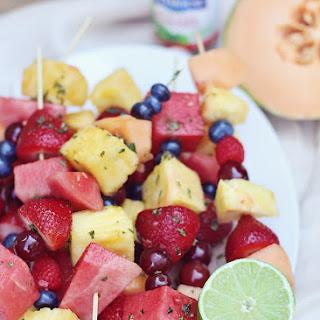 Basil-Lime Fruit Kabobs Recipe