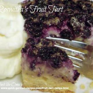 Roswitha's Fruit Tart