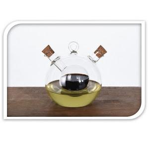 Doza oliviera otet si ulei, material sticla, 200 ml