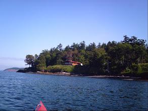 Photo: The west coast of San Juan Island.