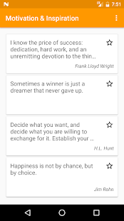 Motivational & Inspirational Quotes - náhled