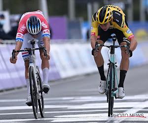 """Van Aert had het lastig met niet-winst in Ronde en dacht misschien te veel na: """"Mijn maag draaide zich paar keer om"""""""
