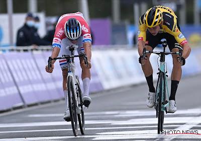 """""""Wout heeft zich in de sprint laten verleiden om mee te gaan in het spel van Mathieu"""""""
