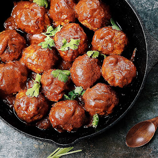 Creamy Coconut Milk Meatballs