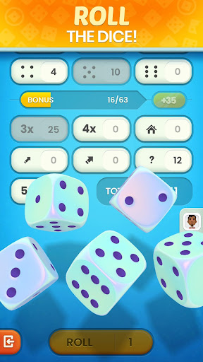 Golden Roll: The Yatzy Dice Game modavailable screenshots 1