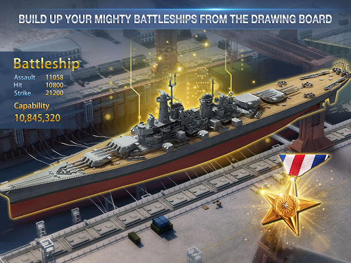 Battleship Empire: WW2 Naval Battles and Warships 1.0.2 gameplay | by HackJr.Pw 10
