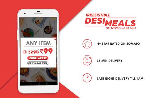 BOX8 - Order Food Online | Food Delivery App  screenshots 1