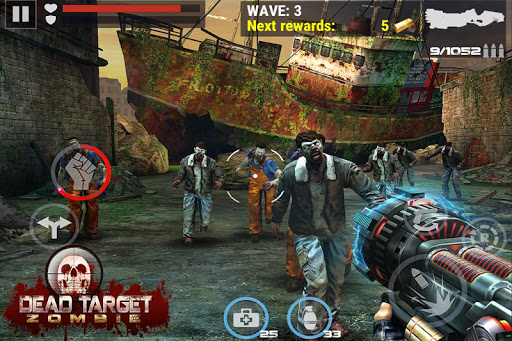 DEAD TARGET: Zombie Shooting screenshots 3
