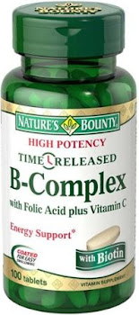 Nature's Bounty B-Complex Energy Support - 100 Tablets