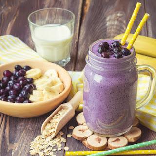 Blueberry Breakfast Power Smoothie Recipe