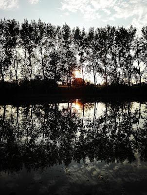 Tramonto sul lago di Giuls89