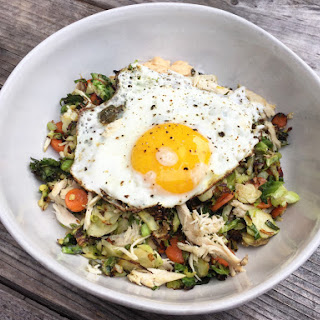 Spicy Brussels Breakfast Bowl Recipe