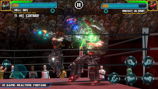 Real Robot Ring Boxing 2019 apkpoly screenshots 9