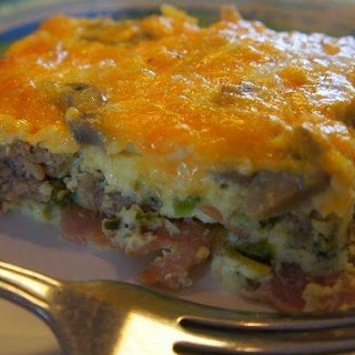 Low Carb Breakfast Bake.