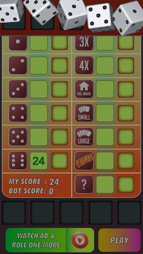 Yatzy Classic Dice Game - Offline Free 3.1 screenshots 12