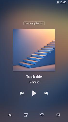 Samsung Music Android App Screenshot