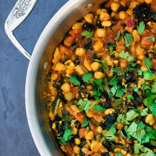 Vegetarian Chickpea Stew.