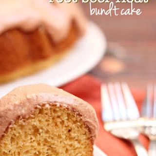 Root Beer Float Bundt Cake