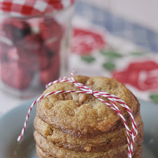 Salt and Pepper Butterscotch Pine Nut Cookies