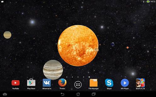 Solar System 3D Free Live Wallpaper 9