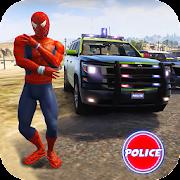 Cop Cars Superhero Stunt Simulator icon