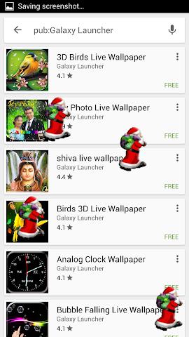 android Santa On Live Screen Screenshot 4